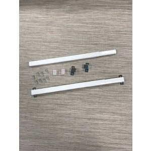 Kirsch Flat Sash Curtain Rod Port Amp Bay