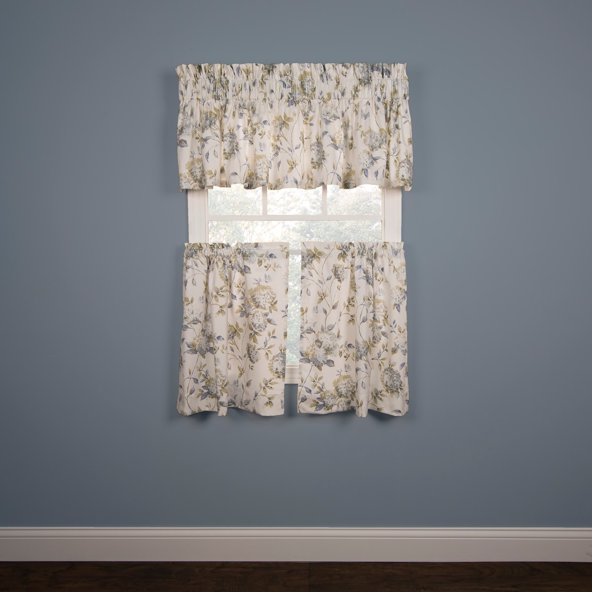 Abigail Tier Valance And Tailored Curtain Port Bay