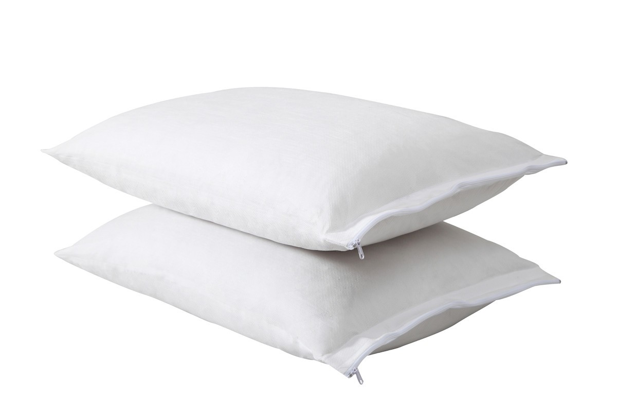 All In One Pillow Protector With Bed