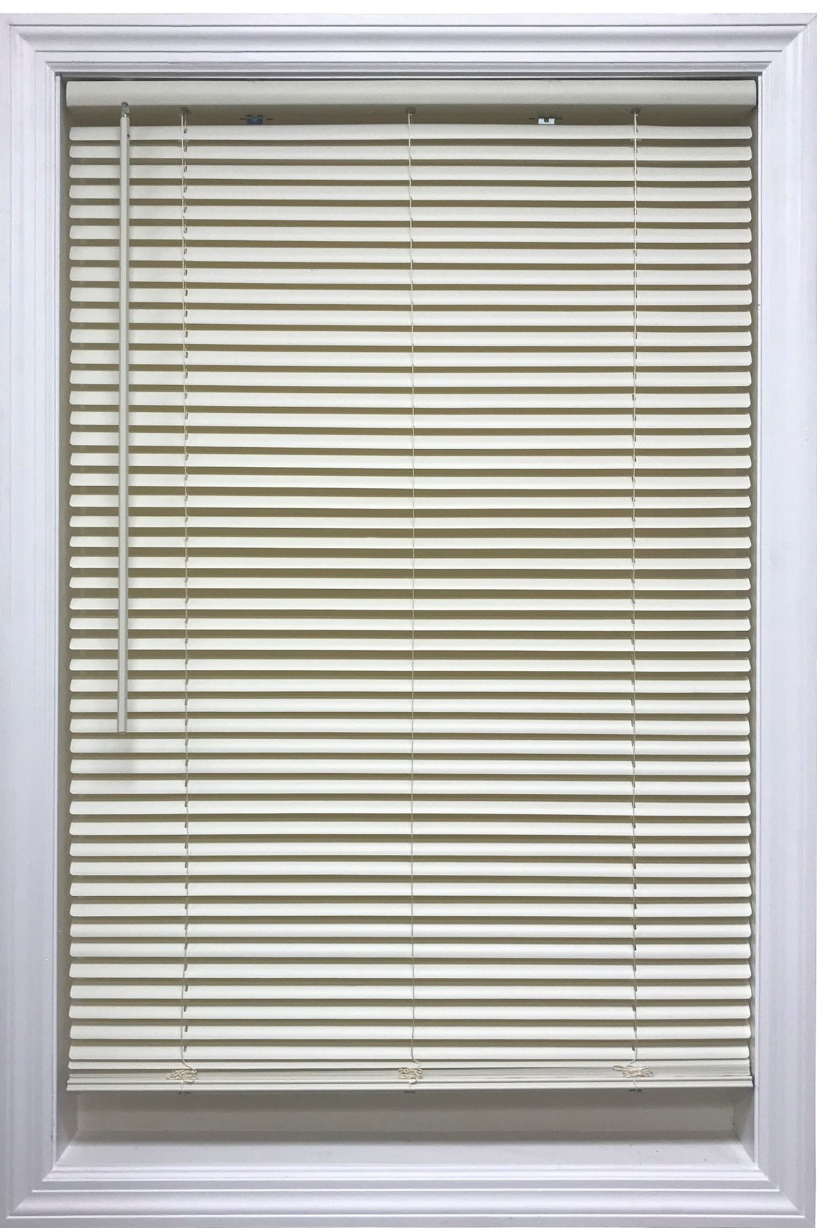 Cordless 1 Vinyl Mini Blinds Alabaster Port Bay
