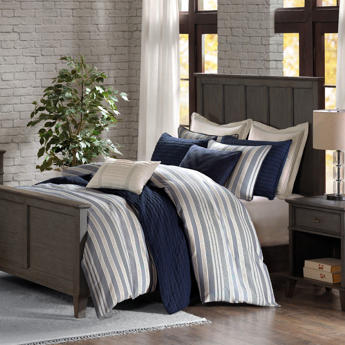 Madison Park Signature Farmhouse Comforter Set Port Bay